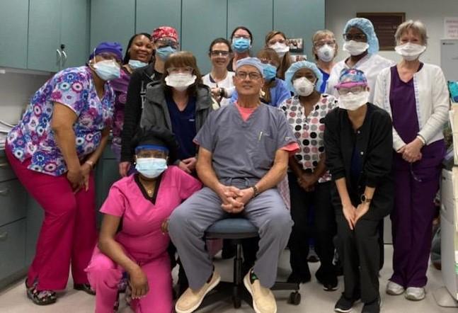Dr. DiNapoli's Retirement